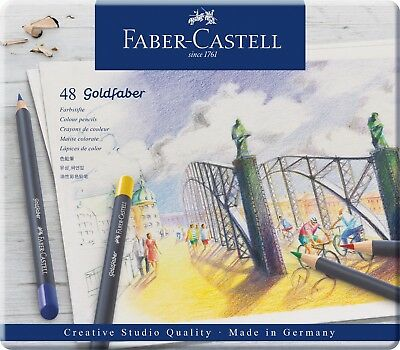 Faber-Castell Goldfaber Farbstift 48er Metalletui