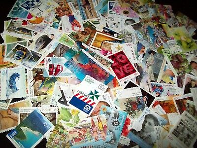 Australian Stamps 160 x 60c era Stamps Used-All Different Bulk