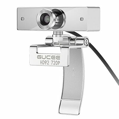 HD Webcam 720P, GUCEE HD92 Web Camera with Buit-in Microphone, USB Plug ...