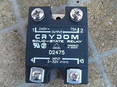 Crydom Solid State Relay D2475