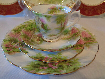Royal Albert Trio Plus Large Dinner Plate - ***The Old Mill*** First Quality