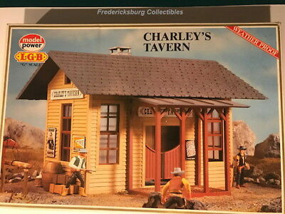 Lgb Model Power 1601 Charley's Tavern - G Scale- With Instructions, Decals & Box
