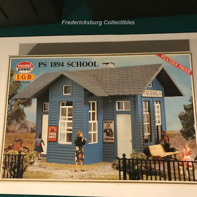 Lgb Model Power 1619 Ps 1894 School - G Scale- With Instructions, Decals & Box