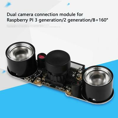 IR Night Vision Dual Camera Module Board 5MP 2592×1944 Fr Raspberry Pi 2 3/ Zero