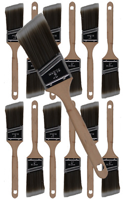 """2"""" Angle House Wall,Trim Paint Brush Set Home Exterior or Interior Brushes"""