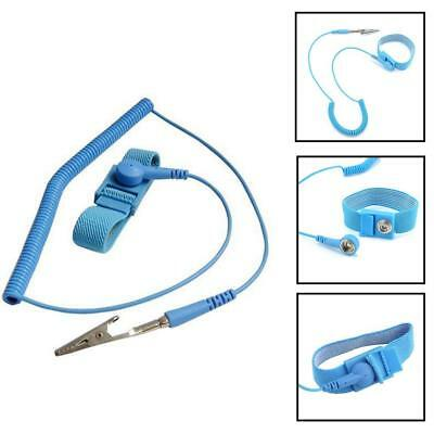 Brand Anti Static ESD Wrist Strap Discharge Band Ground Prevent Static Shock NG
