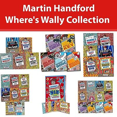 Where's Wally? collection Martin Handford 12 Books Set The Fantastic Journey NEW