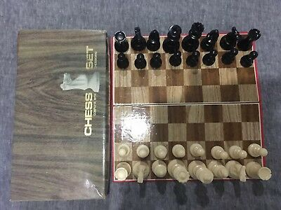 Vintage Chess Set~~ Made In Hong Kong~~Grace Toys