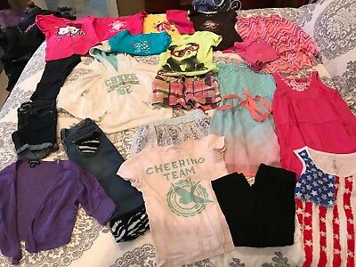 Huge 6/6x Girls Spring Summer Lot! 21 Items Carters & More!!!