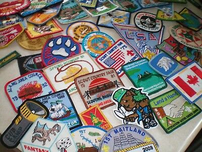 Boy Scout/girl Guide/brownie/cub/order Of The Arrow Patches And Badges