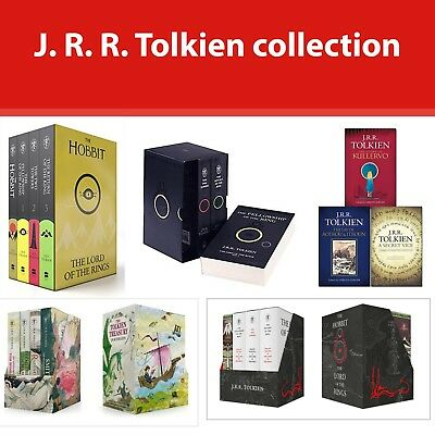J. R. R. Tolkien Box Set Hobbit and Lord of the Rings, Treasury Books collection