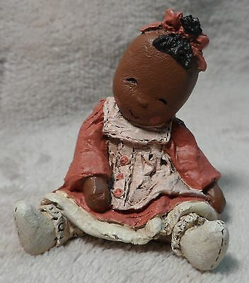 "ALL GODS CHILDREN ""LINDY"" MARTHA HOLCOMBE RAG DOLL FIGURINE MEMBERS ONLY jd1b"