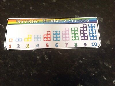 numicon number line display maths numbers counting SEN autism