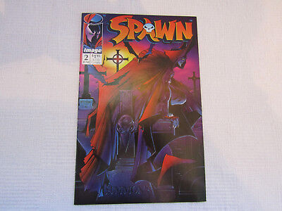 Spawn issue #2 - Image Todd McFarlane