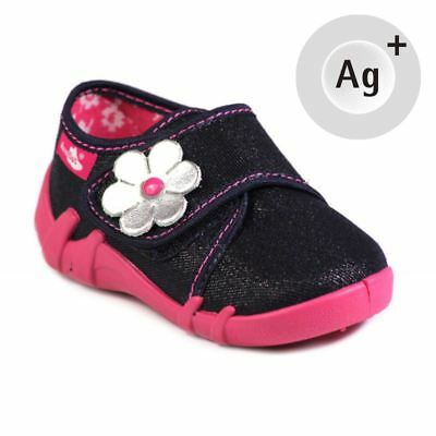 Baby Toddler Girls Canvas Shoes Kids Sandals #6 (UK / EU All Sizes)