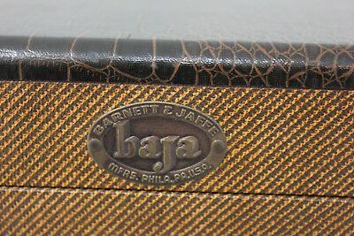 "VIntage Barnett & Jaffe ""baja"" 35 mm slide or Coin Display Box"