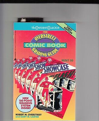 Overstreet Comic Book Grading Guide first edition 1992