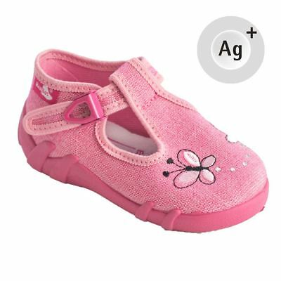 Baby Toddler Girls Canvas Shoes Kids Sandals #9 (UK / EU All Sizes)