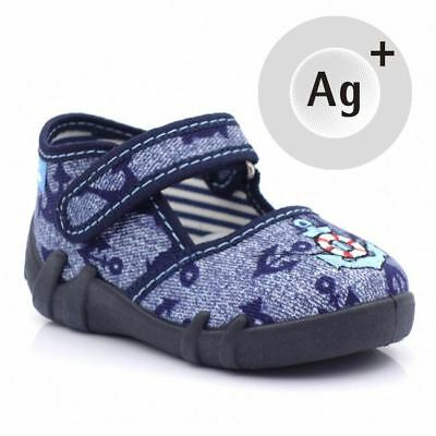 Baby Toddler Boys Canvas Shoes Kids Sandals #3 (UK / EU All Sizes)