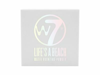 W7 Lifes a Beach Matte Bronzing Powder Face Bronzer Make Up 10g