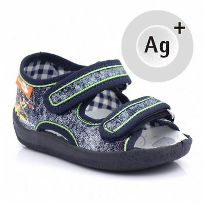 Baby Toddler Boys Canvas Shoes Kids Sandals #10 (UK / EU All Sizes)