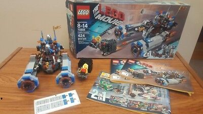 Lego Movie 70806 Castle Cavalry 2 In 1 Set Complete Free