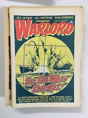 Warlord Comic 1976 LOT of 44 issues