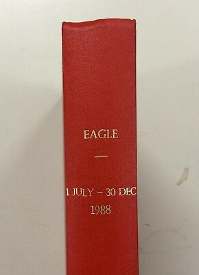 Eagle Comic Bound Volume 1988 1 July - 30 Dec Dan Dare