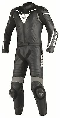Dainese Laguna Seca D1 2 piece Leather Suit-Blk/Blk/Ant - 52 - WAS £899.95