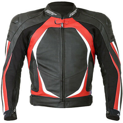RST Blade II Leather Jacket - Red - 44 - Was £249.99 now £149.99