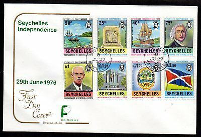 Seychelles - 1976 Independence First Day Cover