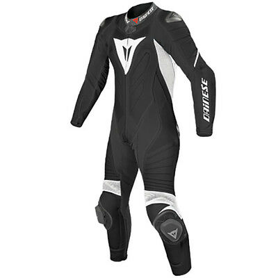 Dainese Laguna Seca Evo Ladies 1 pce race suit -Blk/Whi-UK12 - WAS £899.95