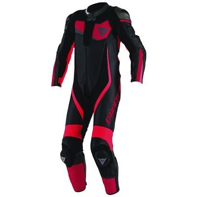 Dainese Veloster 1 pce Leather Suit - Black/Red/Red - 50 - WAS £749.95