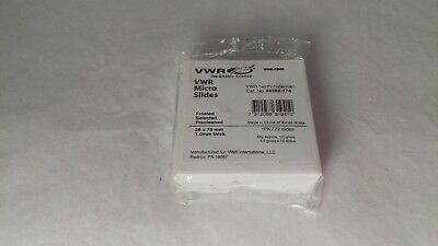 VWR 48382-174 VWR Micro Slides Frosted 25x75 1 MM thick
