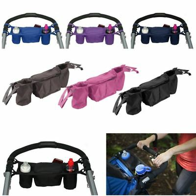 Baby Stroller Organizer Baby Prams Carriage Bottle Cup Holder Bag for Pram Buggy