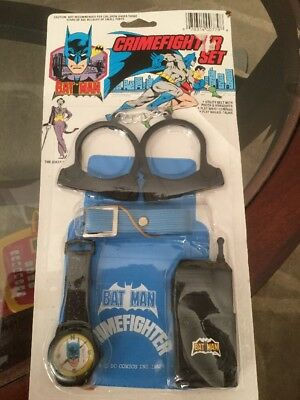 Batman Crimefighter Set  New In Package  DC Comics 1982