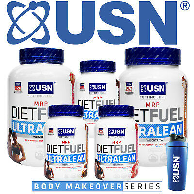 USN Diet Fuel Meal Replacement MRP Weight Loss Slimming Protein Shake 1kg / 2kg