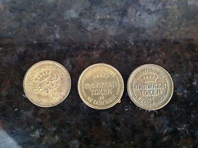 Carwash tokens