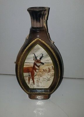 Bourbon whisky Beam's choice 8 years ceramic decanter very old .limited edition.