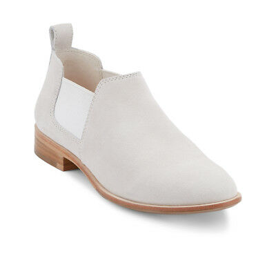 G.H. Bass & Co. Womens Brooke Genuine Leather Slip-on Ankle Height Bootie
