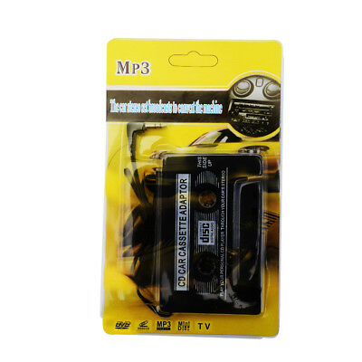 Car Cassette Tape Adapter Converter for MP3 iPhone 4 4S iPod Touch Nano CD HOT Y