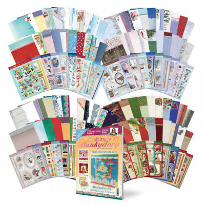 Hunkydory - Christmas Craftaganza 2018 - Luxury Topper Collections Bundle
