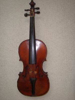"""ANTIQUE FRENCH VIOLIN c 19/EARLY 20th 4/4 & LABEL """"BEARE & FILS a LONDRES No 5"""""""