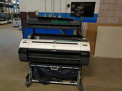 """Canon ImagePROGRAF IPF 760 36"""" Wide Format Meter= 181K SQFT w/ Colortrac M40 -CT"""