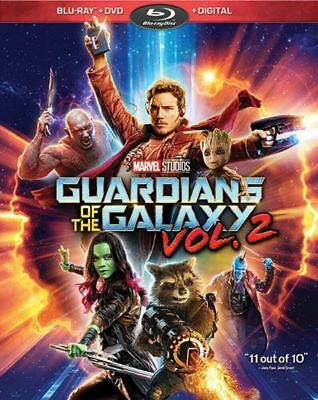 Guardians of the Galaxy Vol. 2 (Blu-ray, DVD, Digital Copy) Brand New