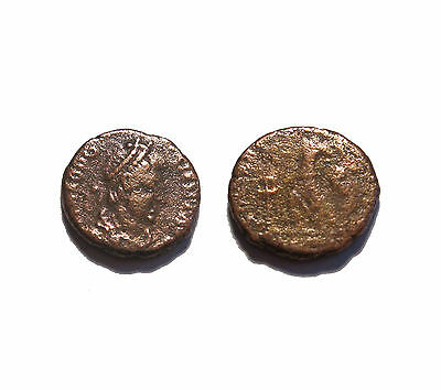 Roman Imperial coin Theodosius Victory and Captive you get coin shown #31