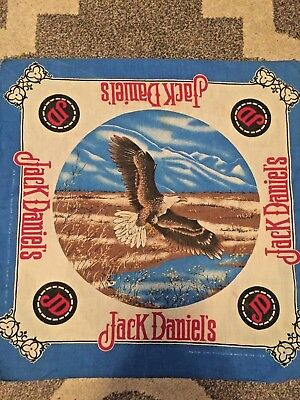 JACK DANIELS OLD No 7 Bandana Headband Scarf Handkerchief NEW '21.Soaring Eagle