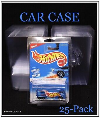 Protech Car Case The Original Hot Wheels Display Case Lot of 25