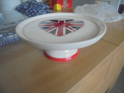 Collectors Union Jack cake stand