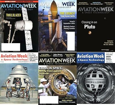 Aviation Week & Space Technology Magazine -260 Issues 2 DVDs + Extras Sci-Fi Pdf